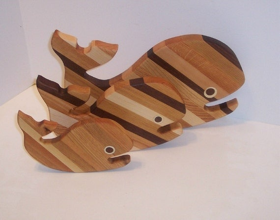 3 Whale's Cutting Board Set