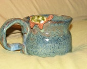 Blue Turtle 'Drinking Buddy' Mug