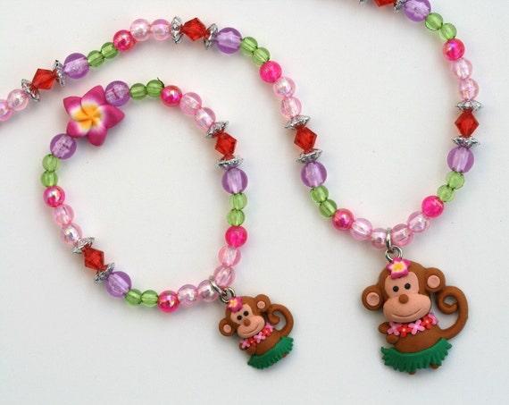 Hula Monkey 946   3 piece set