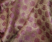 Spotty Hand Dyed Handwoven Silk Scarf