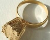 Rockwell iii Ring in 22k Gold Vermeil