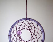 Purple Mini Dreamcatcher