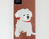 Havanese Dog on Phone Case - brown dog, iPhone 6S, iPhone 6 Plus, Gifts for Dog Lovers, Christmas, Samsung Galaxy S6, Dog Gifts
