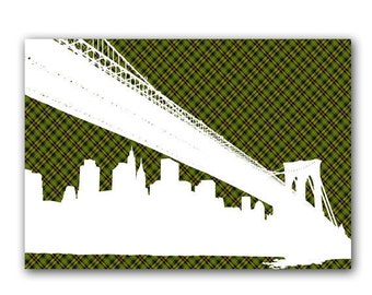 The Brooklyn Bridge - New york bridge, bridge, silhouette, New York City, Bridge in New york