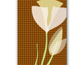 Tulip Flower -  Fine Art Print, spring flower, pattern, tulip flower, Spring blooming bulbs