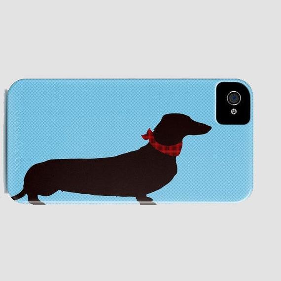 Dachshund Dog on Phone Case -  Dog Gift Ideas, iPhone 6S, iPhone 6 Plus, , Dachshund Gifts, Samsung Galaxy S6