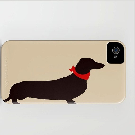 Dachshund Dog on Phone Case - Sausage Dog, Samsung Galaxy S6, iPhone 6S,  Dachshund Gifts, Dog Gift Ideas, Gifts for her, Mothers Day