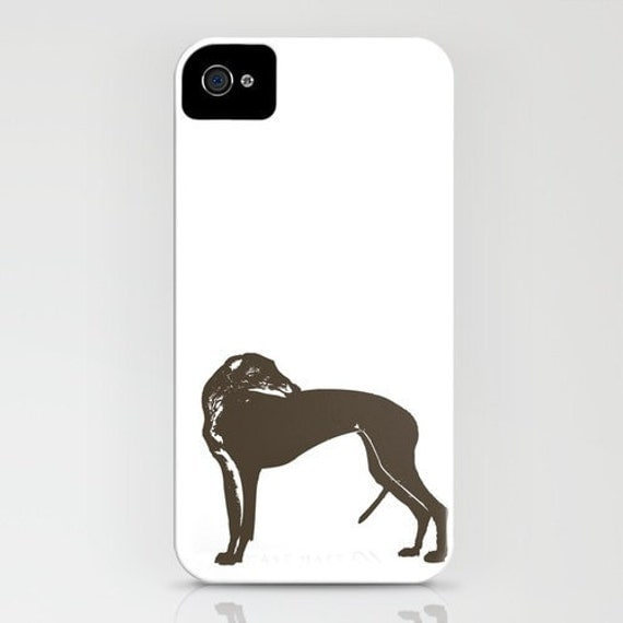 Greyhound Dog on Phone Case - greyhound, Samsung Galaxy S6, iPhone 6S, iPhone 6 Plus, Gifts for Dog Lovers,