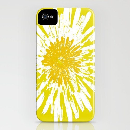 Dandelion flower on phone case iphone 6s iphone 6 plus for Dandelion flowers and gifts