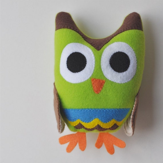 Owl Plushieeeeeeee