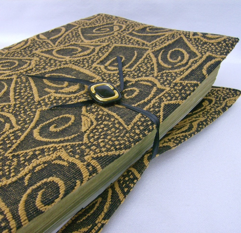 Book Cover Black And Gold : Black gold purses fabric book cover
