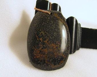 Black Eye Coral Drum Pendant, RKMixables Copper Collection RKM95