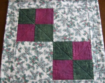 Hollyberry Table Quilt   CLEARANCE