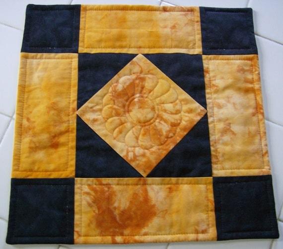 Amish Diamond Mini Quilt   CLEARANCE