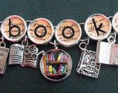 Bookish Charm Book Bracelet Book Lover Literary Themed Jewelry