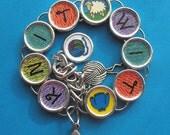Knitters Knit Wit Bracelet KnitWit Knitting Themed Jewelry