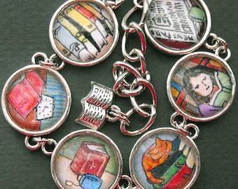 Book Readers Bracelet Bookish Bibliophile Reader Jewelry