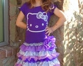 Reserved listing for Sara- Hello Kitty long sleve tutu dress size 6