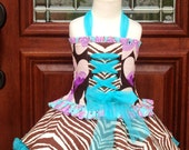 Reserved for HeidiK SandDance Custom western theme Corset & Cupcake 2pc Pageant set