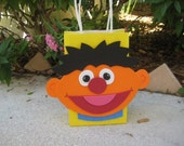 Ernie Sesame Street Inspired Birthday Party Favor Bag