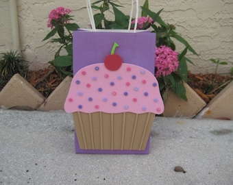 Cupcake Favor Party Bags