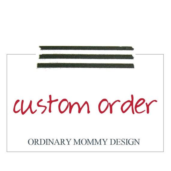 Custom Order for Wanda
