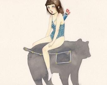 Limited Edition Giclee Print - Bear