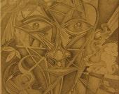 Mazo (Original Artwork In Mat)