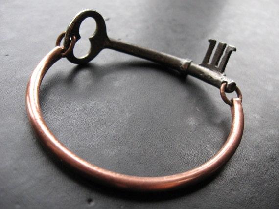 Finders Keepers No.49 - Skeleton Key Bangle - Medium Size