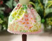 Spring Patchwork Garden Skirt for Blythe
