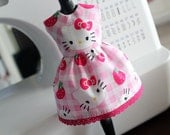 Hello Kitty Pink Dress for Blythe Doll