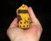 Dalek Miniature Crochet-get it custom