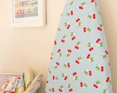 Ironing Board Cover - Sew Cherry in Blue
