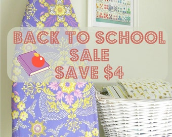 Back to School Sale - Save 4 on Tabletop Ironing Board Cover and Pad set