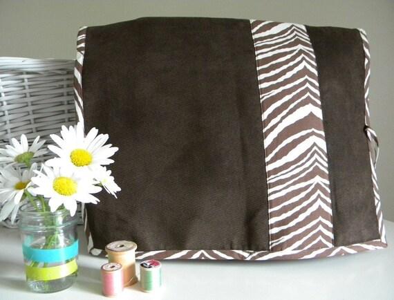 SALE - Zebra Stripe Sewing Machine Cover