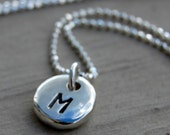 Custom Listing for Amy - Shiny Personalized Monogram Pendants