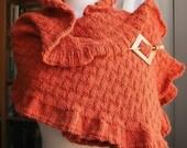 Knitting Pattern - Rococo Shawl - Knitting DIY Tutorial - PDF electonic delivery