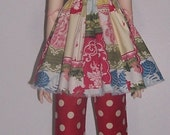 OOak fashion set for 25 inch goodreau BJD Girls  Polka Dots and patchwork