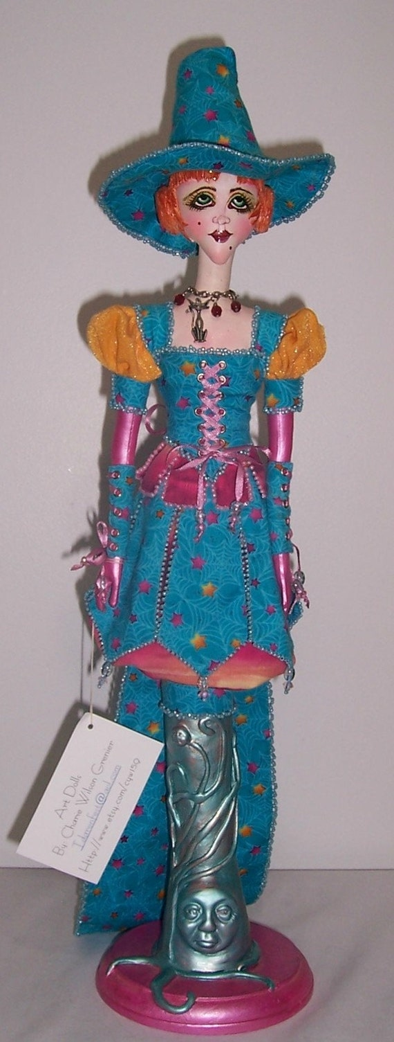 OOAk Art Doll cloth by Charie Wilson