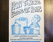 How to Make Booze at Home Booklet