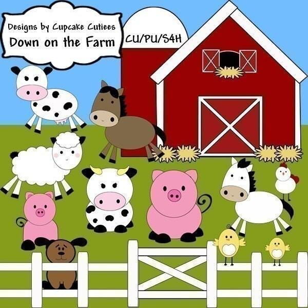 farm animals clipart images - photo #30