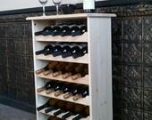 Wine Tasting Table--Holds 30 Bottles