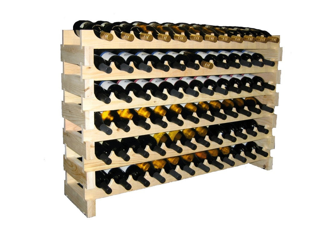 build modular wine rack