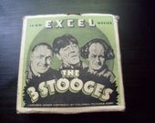 3 Stooges 16 mm film short - Excel Film Company - Hungry Three