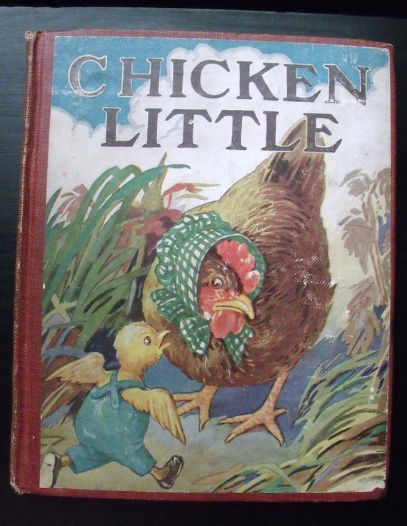 Chicken Little - 1919 - Donohue Peter Rabbit series - Rare and collectible