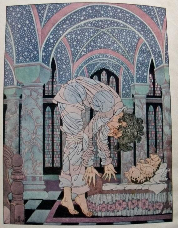 Snythergen - il. by Dugald Stewart Walker - 1923 edition - Hal Garrot - Art nouveau illustrations