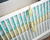Three Fitted Crib Sheets- Choose your own fabric for a custom design