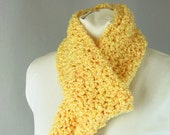 Cheerful Sunshine Yellow Scarf for Her