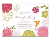 SPRING GARDEN Custom Invitation (PI-04)