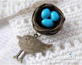 Little Nest brooch